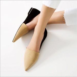 Zara Shoes - 🎉HP🎉 Zara Two Tone Pointed Flats