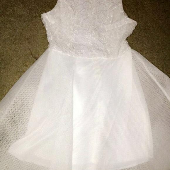 Dresses White Semiformal Dress Poshmark