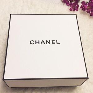 Authentic New Chanel Box, Card,Ribbon Set