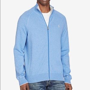 Polo by Ralph Lauren Other - 🆕Polo Full-Zip  Mockneck Sweater, HI Blue, NWT⚡️!
