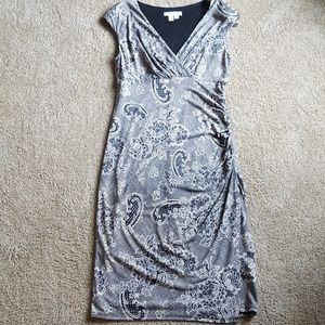 London Times Floral Lace Dress
