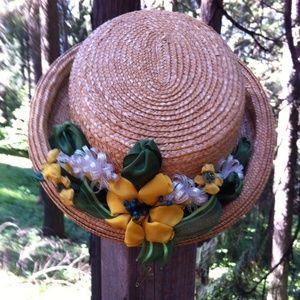 kreativekristen  Accessories - Orginial design by kreativekristen straw hat...