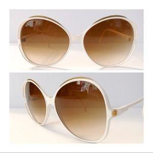 Vintage Brigette Bardot Horizon Sunglasses, White