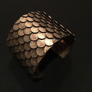 Metal scale cuff for sale