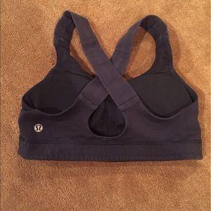 Lululemon heart rate monitor sports bra size 6