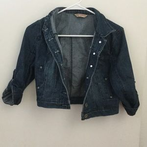 Highway Jeans Jackets & Blazers - Cropped denim jean jacket.
