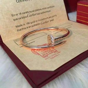 Cartier Other - Cartier nail bracelet with diamond