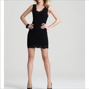 Joie caviar black RORI B eyelet sheath dress