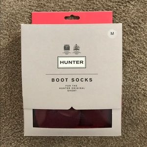 Hunter Boots Accessories - NWT Hunter short boot socks