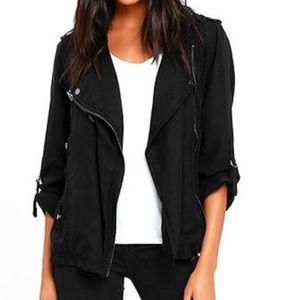 Blank NYC Jackets & Blazers - Black Moto jacket