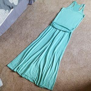 Alternative Earth Green Maxi Dress
