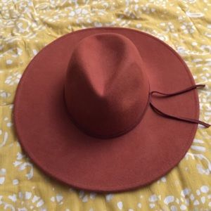 FREE PEOPLE Burnt Orange Hat