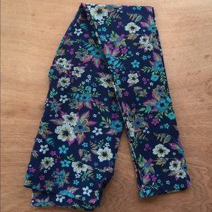 Brand New Lularoe OS Leggings, floral