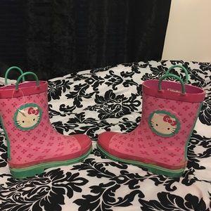 Hello Kitty Other - Hello Kitty Rainboot size 2/3