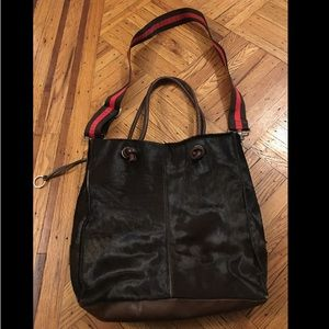 Rare Young by Caterina Lucchi calf hair tote!