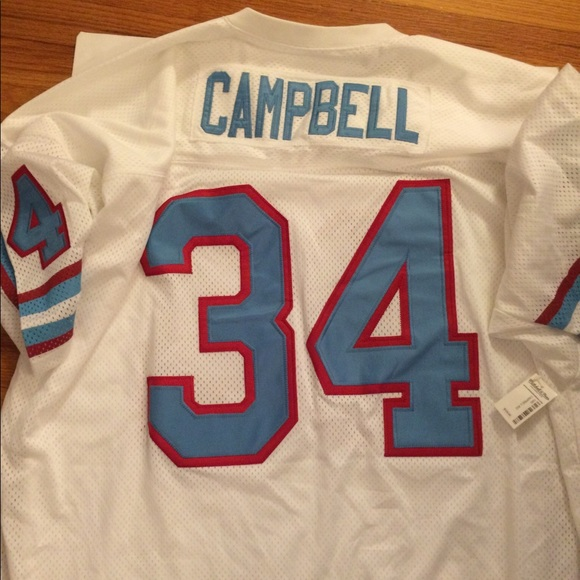 half off a57c9 512d6 Houston Oilers Earl Campbell Jersey