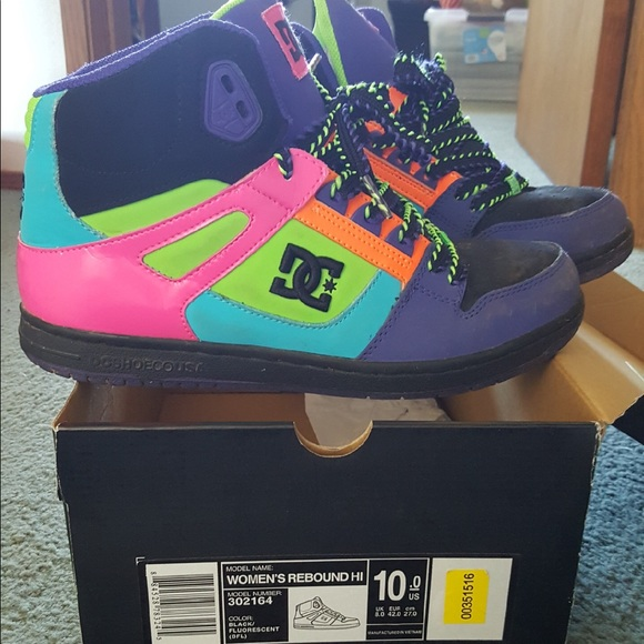 DC Shoes | Rainbow Dc | Poshmark