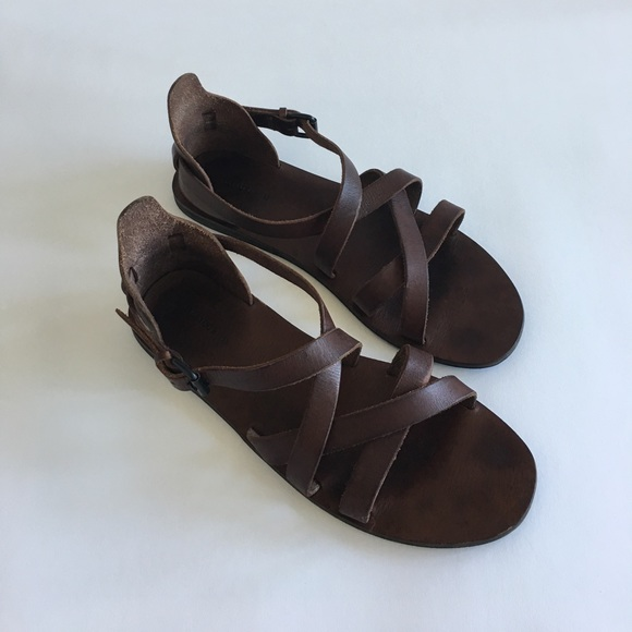 42280cad18039 All Saints Other - All Saints Men's brown Leather Shaw Sandal size 11