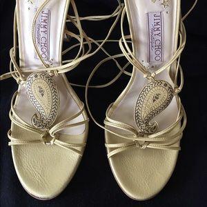 Jimmy Choo Shoes - Jimmy Choo strappy sandals. Never worn. NIB
