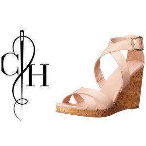 Cole Haan Shoes - COLE HAAN Jillian Open Toe Wedges Shoes 9 1/2