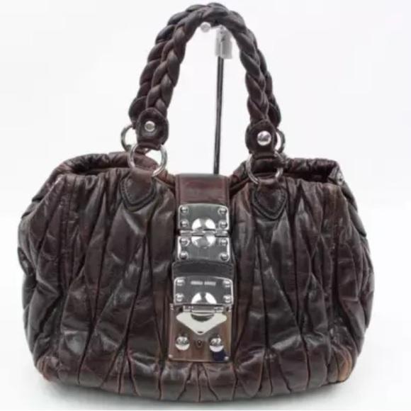1e042ba579d3 SALE🎉authentic MIU MIU brown bag. M 592abb0c620ff7b94806433b