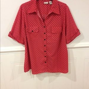 Kim Rogers Tops - Kim Roger blouse size 3X good condition
