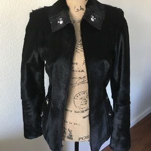Beautiful perfect condition real fur jacket.