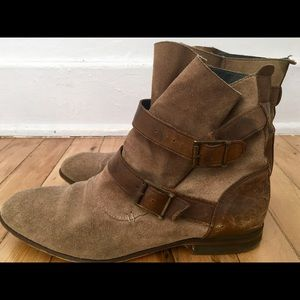H By Hudson Shoes - H BY HUDSON ankle boots. Tan /brown SZ 39