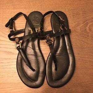 Tory Burch Shoes - Tory Burch Black Sandals