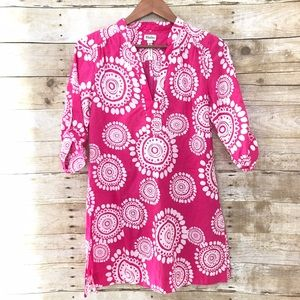 Hatley Dresses & Skirts - Hatley Pink mandala cotton Tunic dress