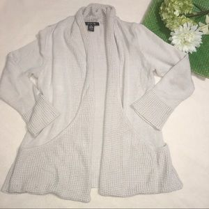 89th & Madison Sweaters - Textured accent cardigan