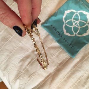 Kendra Scott Jewelry - Kendra Scott bracelet with hand chain