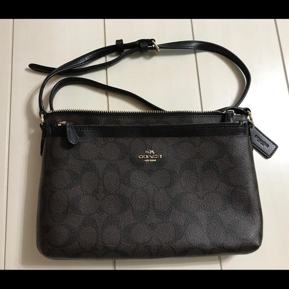 43fbda595b Coach Handbags - Authentic Coach Monogram Sling Bag