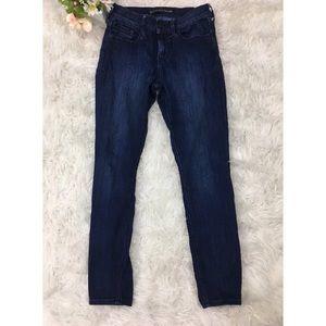Express Denim - EXPRESS Skinny Leggings Midrise Denim Jeans-4072A6