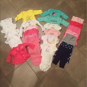 Carter's Other - Baby girl clothes bundle
