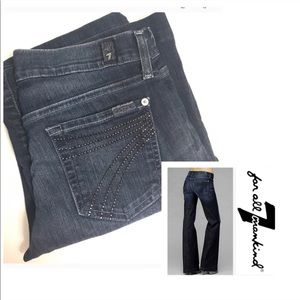 7 For All Mankind Denim - FINAL🎉Dojo 7 For All Mankind Jeans 26 x 30