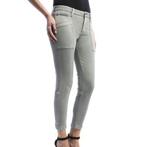 Liverpool Jeans Company Denim - Liverpool Kylie cropped cargo jeans