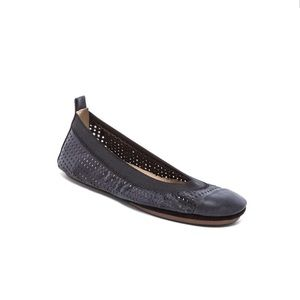 Yosi Samra Shoes - Yosi Samra Perforated Ballet Flats