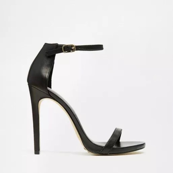 Leather New Look Strappy Heel Sandals
