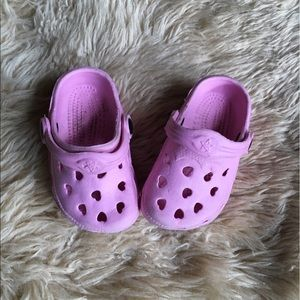 Other - Pink Rubber Infant Slip on Shoes