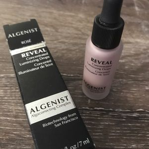 Algenist Concentrated Luminizing Drops in Rosé