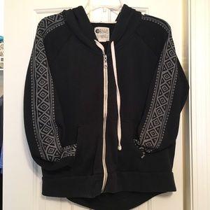 Billabong Jackets & Blazers - Billabong tribal patterned sleeve hoodie