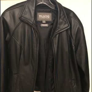 Wilsons Leather Jackets & Blazers - Women's medium size black jacket