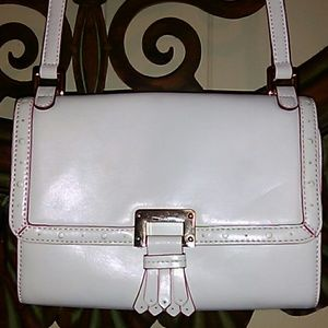 ANTONIO MELANI Handbags - Antonio Melani White Leather Bag