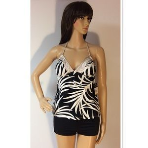 Anne Cole Other - ANNE COLE SIGNATURE HALTER TANKINI TOP