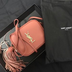 a250494433 Saint Laurent Bags - YSL Saint Laurent Dusty Rose Blogger Bag