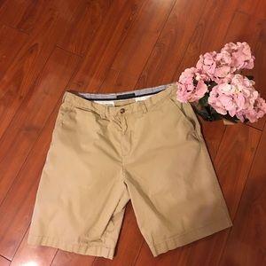 Tommy Hilfiger Other - Tommy Hilfiger khaki flat front shorts 38