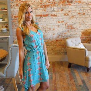 Dresses & Skirts - Jade Aztec print high low dress