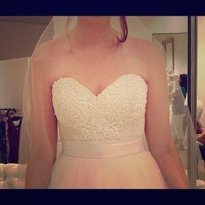 Watters Dresses & Skirts - BHLDN Watters Tisha Corset