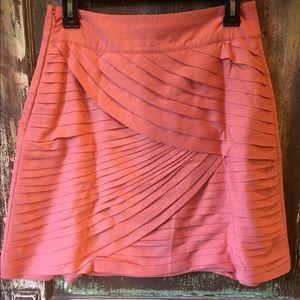 Reiss Dresses & Skirts - Reiss Skirt Tiered Horizontal Pleat Mini Size 4
